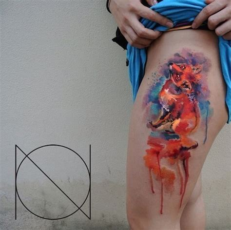 watercolor tattoos buzzfeed 21 visually stunning watercolor tattoos