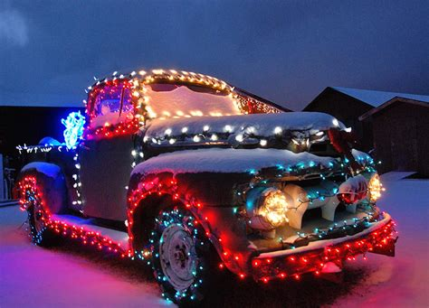 christmas truck decorations images