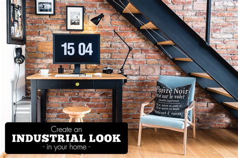 industrial look how to create an industrial look why not tiles