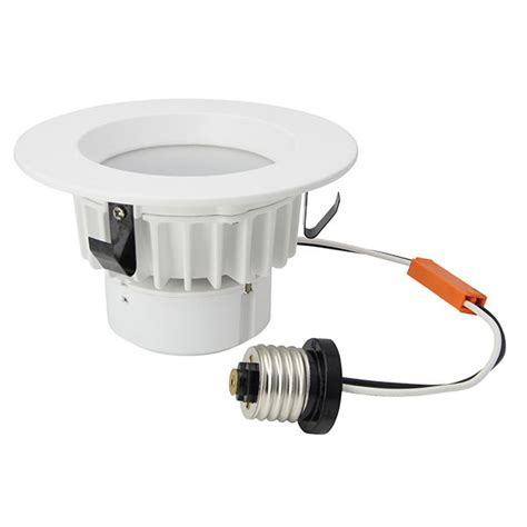 4 Inch 12 Watt Retrofit Led Recessed Light E26 Dimmable Dimmable Led Bulbs For Recessed Lights
