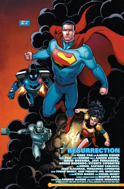 Dc Comics Superman Comics 965 December 2016 review comics 50 comiconverse