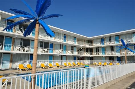 Find Nj Blue Palms Resort Boardwalk Bungalows Wildwood Nj 2017 Review Family Vacation