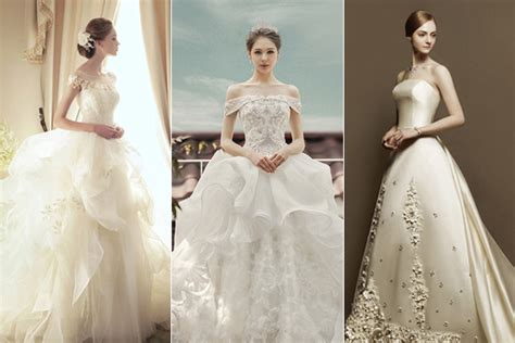 dreamy sophistication top  korean wedding dress brands