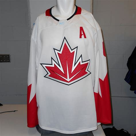 Jersey Prancis Away Cup 2016 shea weber montreal canadiens used away 2016 world cup of hockey team canada jersey nhl