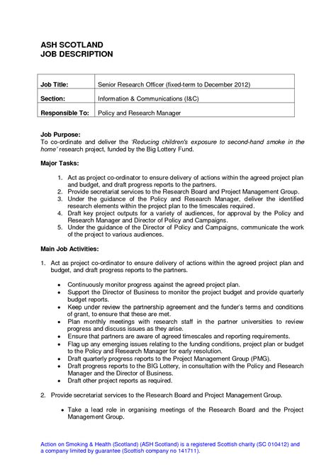 Resume Exles Descriptions receptionist duties for resume resume ideas