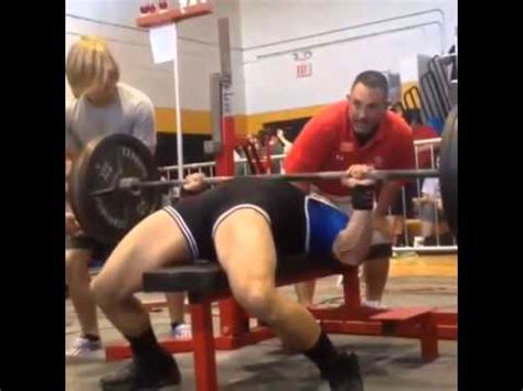 high school bench press record louisiana high school 148lb weight class bench press
