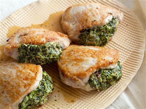 pork chops stuffed with feta and spinach cooking light 70 most popular pork recipes food network canada