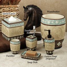 blue and brown bathroom accessories 1000 images about southwestern bathroom accessories on pinterest bath towels bath