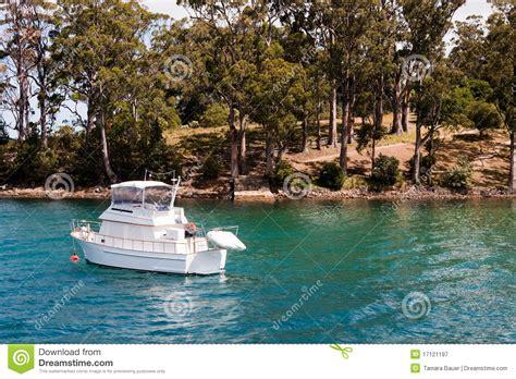 boat prices to tasmania boat in bay port arthur stock image image of ocean
