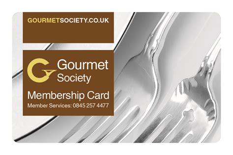 The Card Society by Gourmet Society Card Gourmet Society