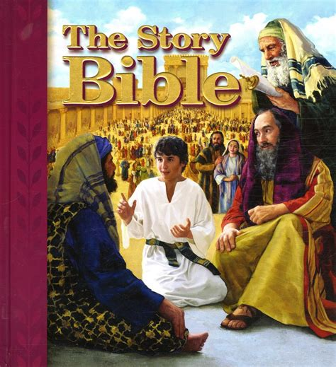 bible story picture books christian children s book review the story bible