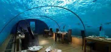 ithaa undersea restaurant prices pics photos hilton maldives underwater restaurant