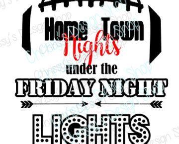 friday night lights pdf friday night lights football svg chrissy s design shop