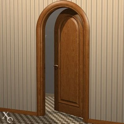 Arch Interior Doors by 3d Model Interior Door