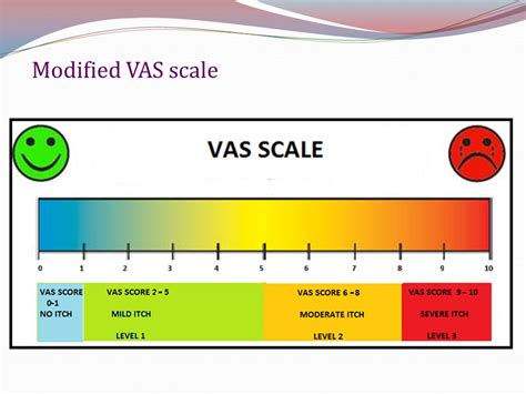 vas scale post burn pruritus thinking beyond scratching the surface