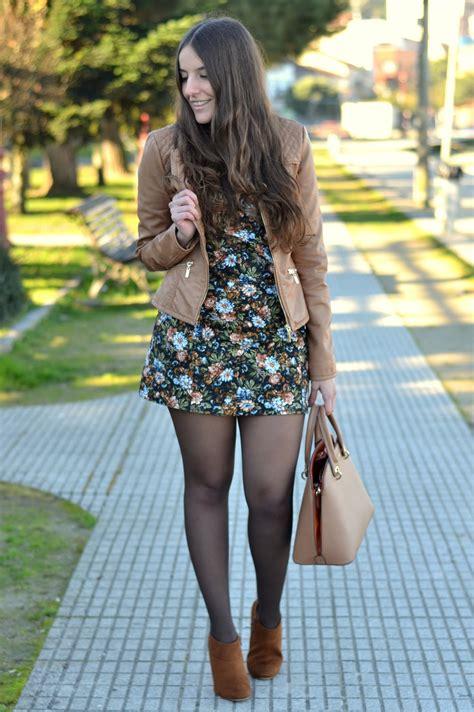 Zara Original 1424 vestidos de flores con botines