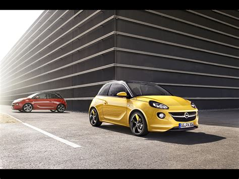 opel adam yellow 2013 opel adam yellow and red 1 1920x1440 wallpaper