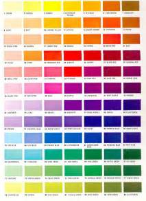 colors of chart color shades chart colors