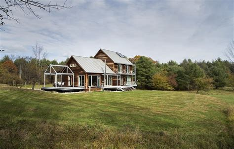 modern home design new england farmstead passive house in vermont for the modern new