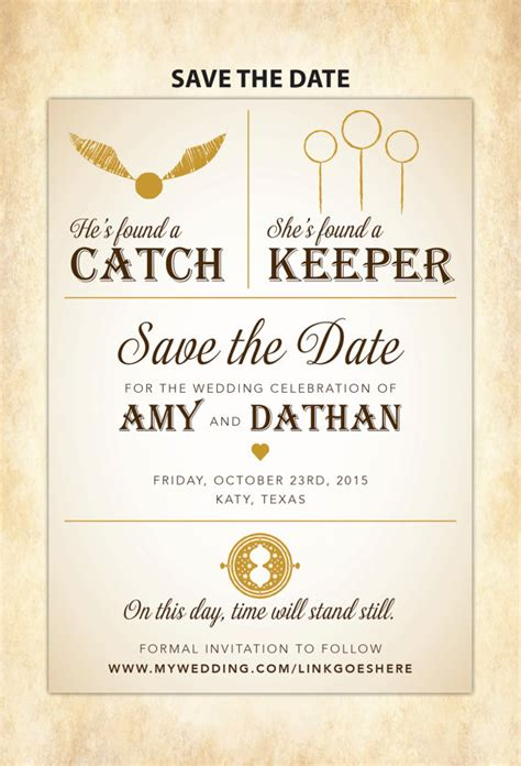 diy save the date cards templates harry potter save the date diy printable