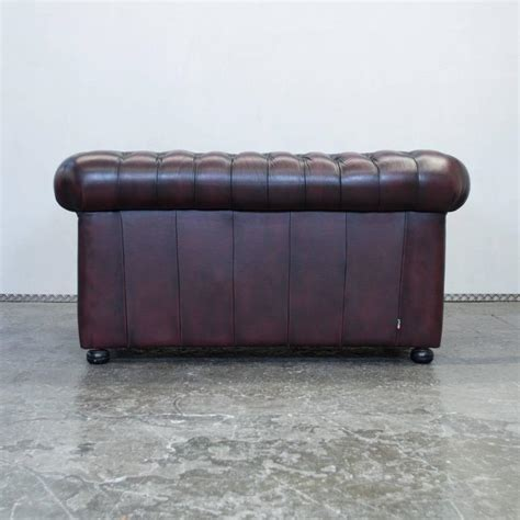 red chesterfield sofa for sale red leather chesterfield three seat sofa by m 246 bel art for