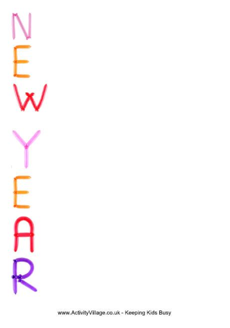 new year writing ks2 new year acrostic printable for