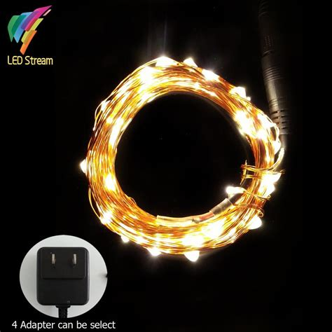 tiny led lights on copper wire 10m 100 led tiny copper wire string fairy lights l with