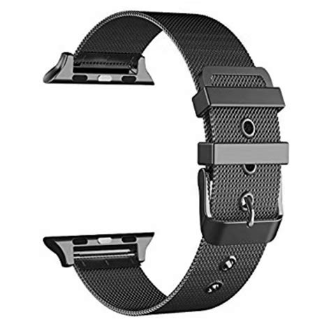 Milanese Watchband Untuk Apple Series 1 2 3 milanese loop metal band for apple 38 42mm series 1 2 3 stainless steel wristwatch