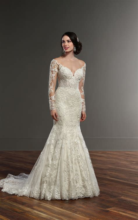 Bridal Dresses With Sleeves by Wedding Dresses Illusion Lace Sleeved Wedding Gown