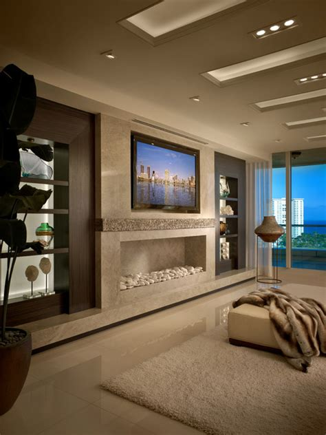 The Living Room Miami Fl Contemporary Residence Boca Raton Florida Contemporary
