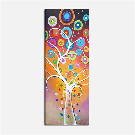 quadri moderni verticali dipinti  mano dandy