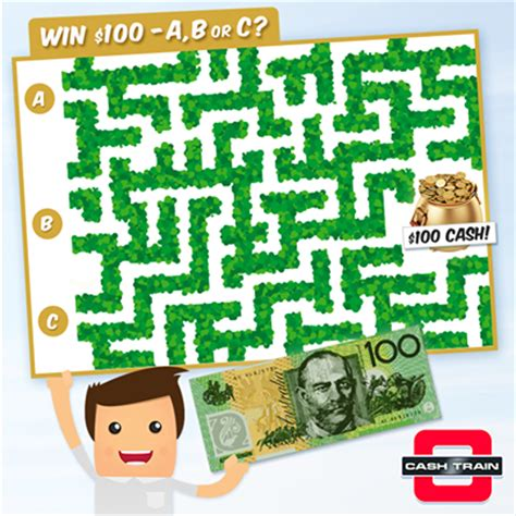 Competitions To Win Money Australia - cash train win 100 cash each week australian competitions