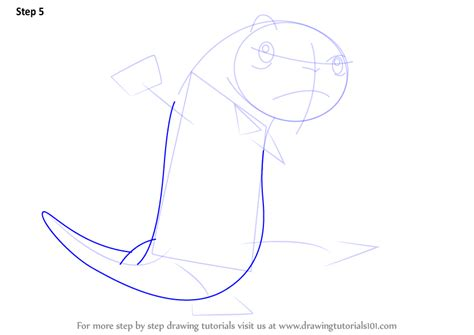 tutorial rufus step by step how to draw rufus from kim possible
