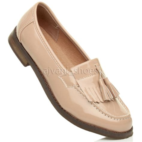 Flat Shoes A S womens flat low heel tassel casual loafers school