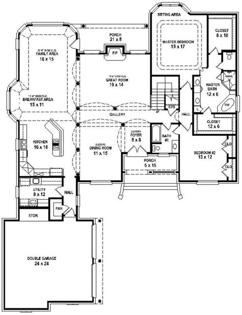 bath floor plans 654737 great 3 bedroom 3 bath house with open floor