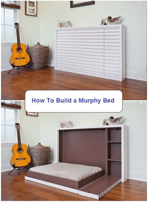 25 best ideas about murphy bed plans on diy