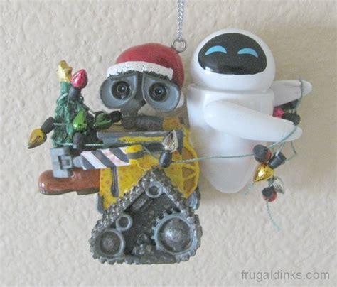 wall e and ornament 2011 holidays and wall e ornament 171 walt disney