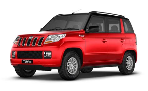 indian car mahindra mahindra tuv300 price in india images mileage features