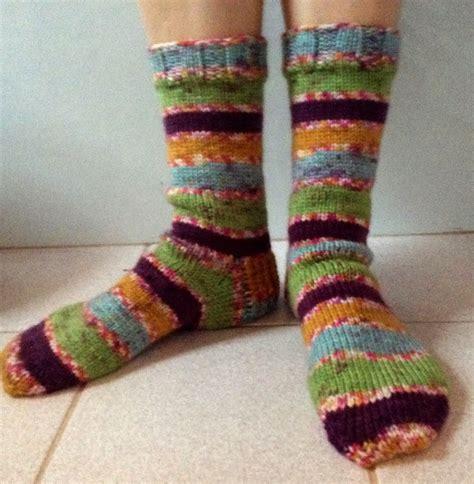 pattern for easy peasy socks ninja woman julie s easy peasy winter socks