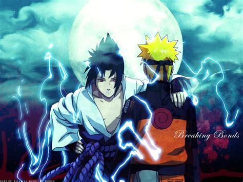 wallpaper naruto dan sasuke foto naruto dan sasuke