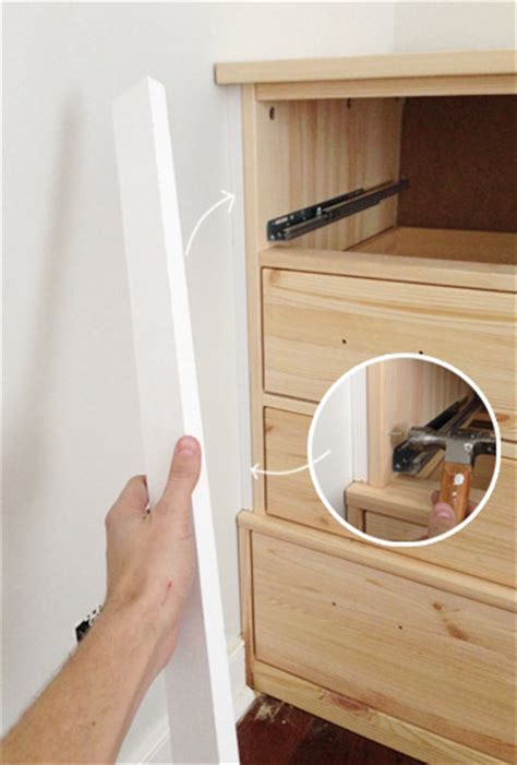 Dresser Built Into Wall by Turning Store Bought Dressers Into Bedroom Built Ins House