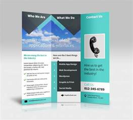 brochure template doc tri fold brochure template docs inspirational tri