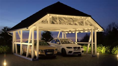 exklusive carports carport walmdach galerie solarterrassen carportwerk gmbh