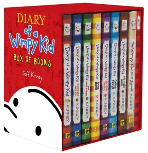 diary of a wimpy kid days book diary of a wimpy kid box of books 1 7 the do it yourself book journal wimpy kid