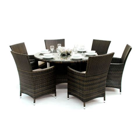 round dining table with armchairs kensington club 135cm round table 6 dining chairs