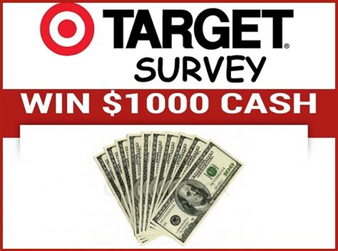 Www Target Com Survey Gift Card - tell your target feedback in customer survey and win 1000 cash sweepstakesbible