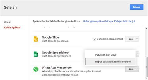 cara membuat aplikasi google drive dimana letak file backup whatsapp di google drive