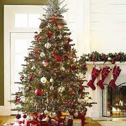Decorated photo of christmas trees and xmas stockings for desktop