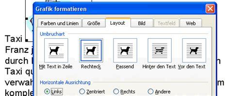 Word Grafik Layout | klickdichschlau at word writer bilder einf 252 gen