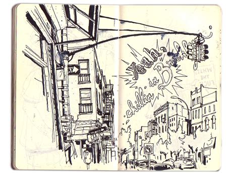 new york sketchbook new york sketchbook on behance